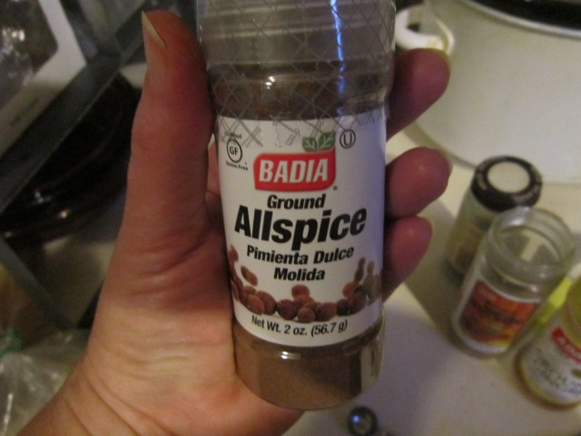 This is Allspice. But you knew that already, right?