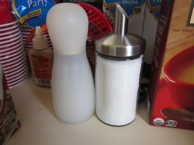 Salt & Pepper--gotta have it.