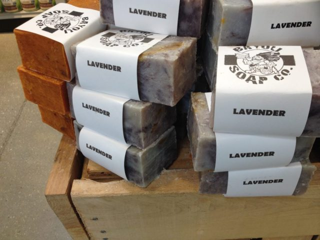 Lavender--good for evening showers to help you sleep.