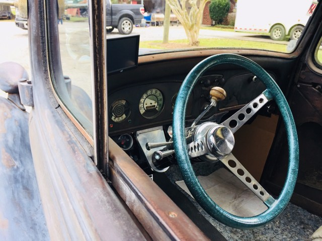 Plymouth steering wheel