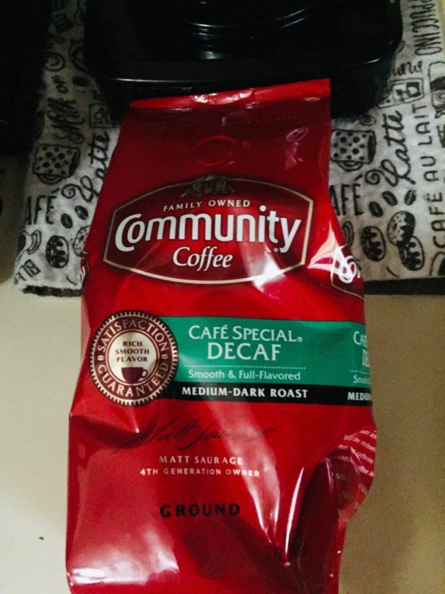 Bag of Community Cafe Special Decaf