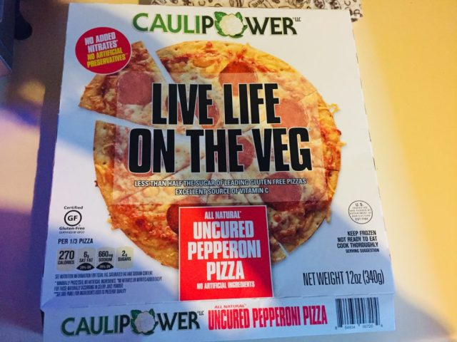 Caulipower Pepperoni Pizzas