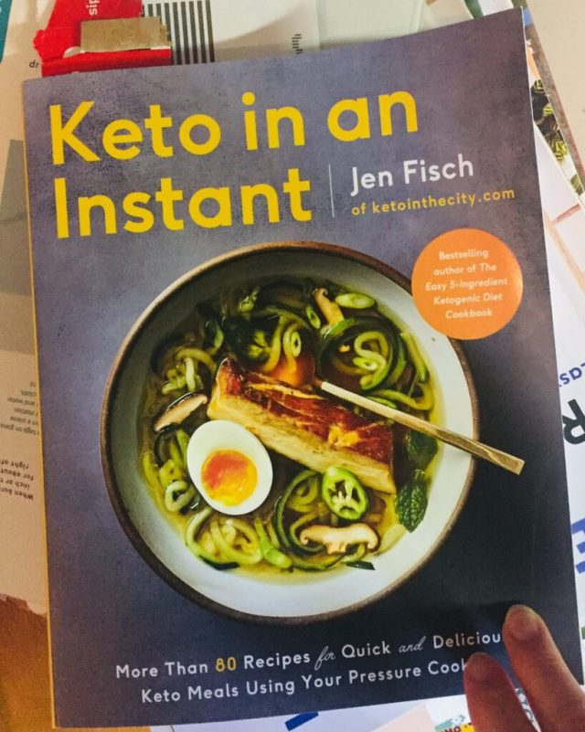 Keto In An Instant Front Cover