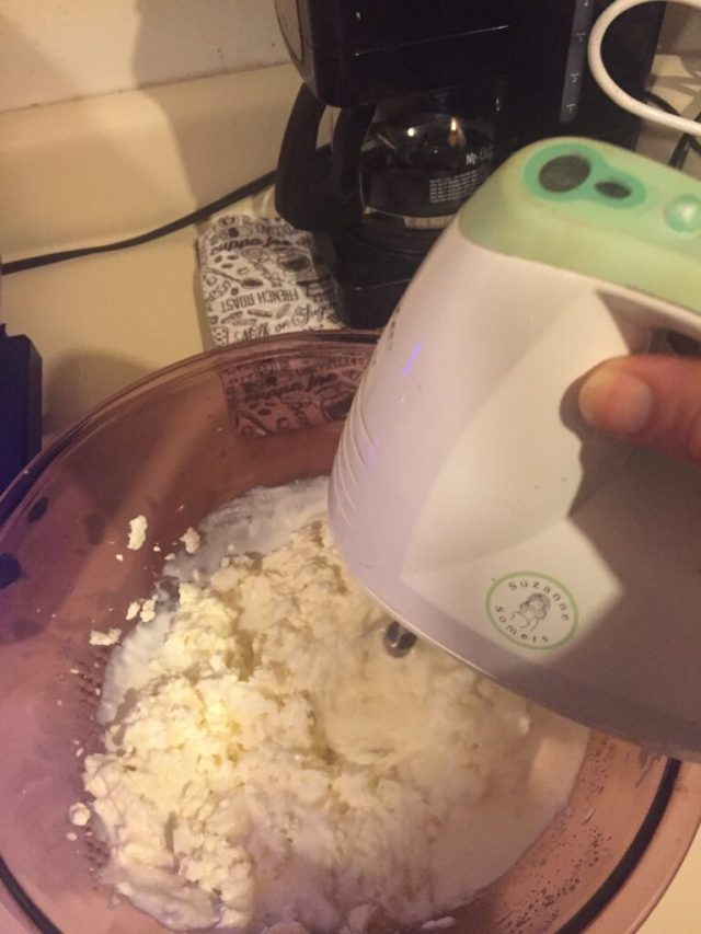 Mixer in action