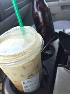 Venti Iced Coffee From Starbucks