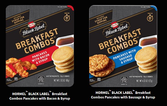 Hormel's Black Label Breakfast Combos