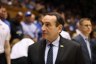 Duke's Mike Krzyzewski will coach in his final Champions Classic on Nov. 9 vs. Kentucky.
