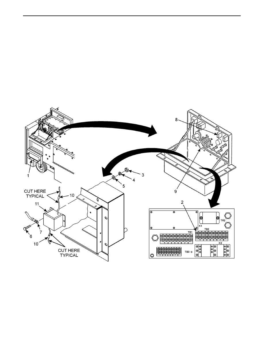 Transformer TR2 Removal