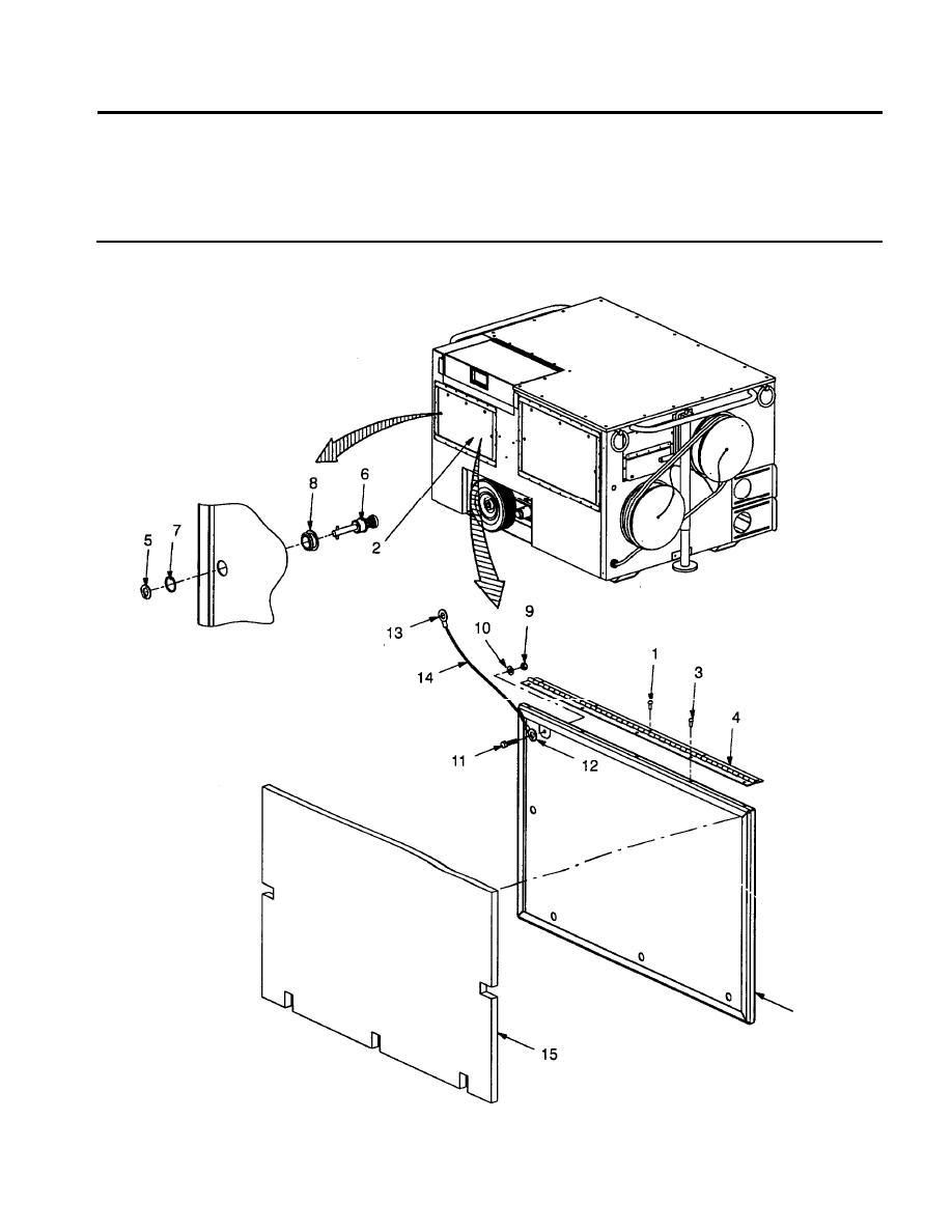 Figure 7. Rear Side Door Assembly.