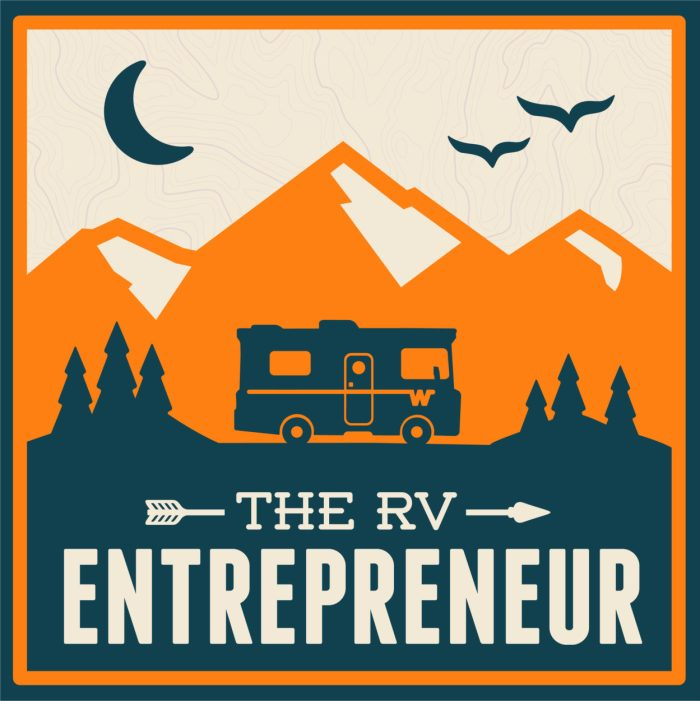 The RV Entrepreneur Podcast A great podcast by Heath & Alyssa interviewing inspiring working on the road RVers. (We're episode #9)