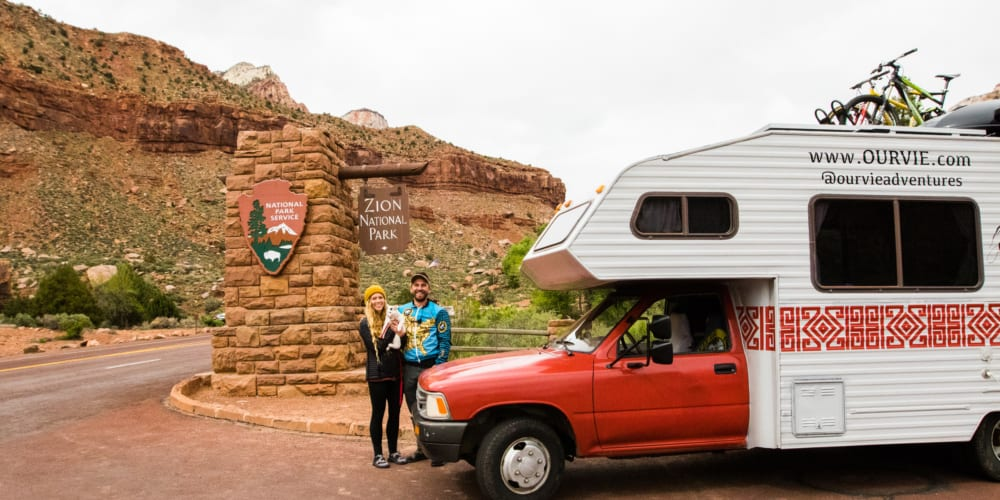 RVE 0020: How Two College Students Got Sponsored to Travel to all 59 National Parks