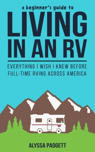 living in an rv book