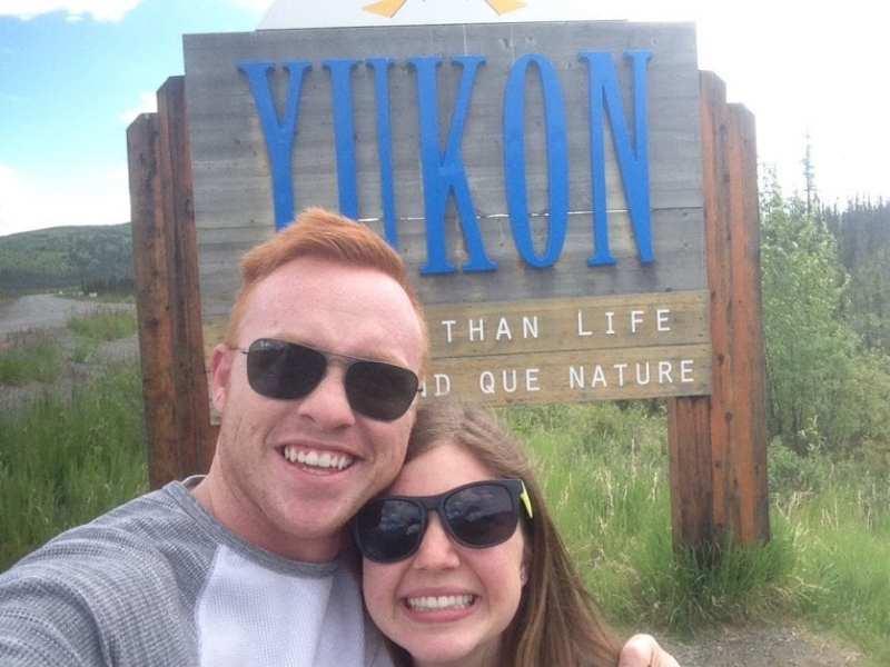 crossing the canadian border yukon