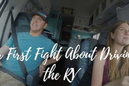 fight about driving the rv