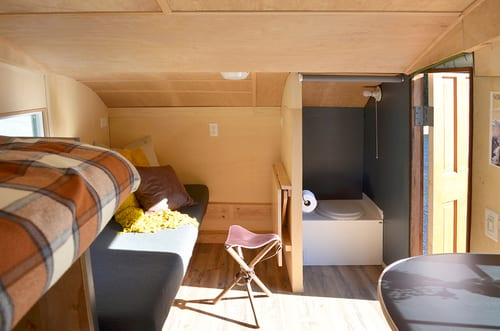 Homegrown Trailer interior
