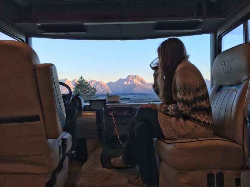Boondocking in the Teton Mountains