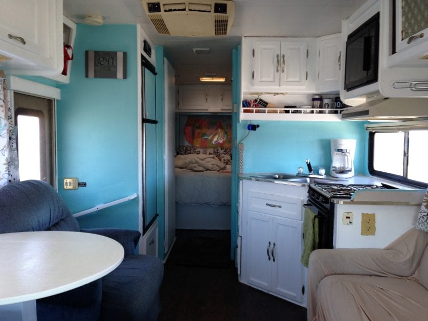 Our 1994 Class C Motorhome Renovation Heath And Alyssa