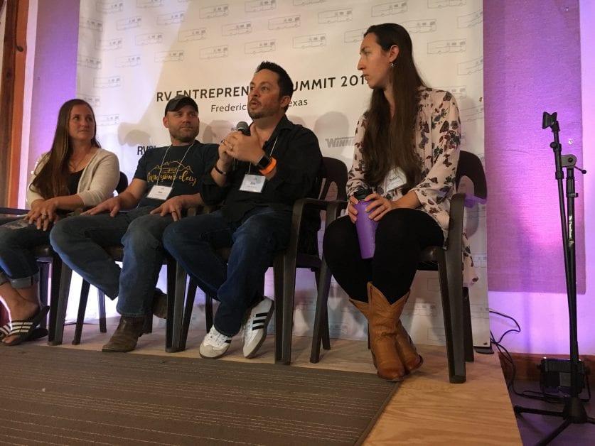 RV wanderlust at RV Entrepreneur Summit