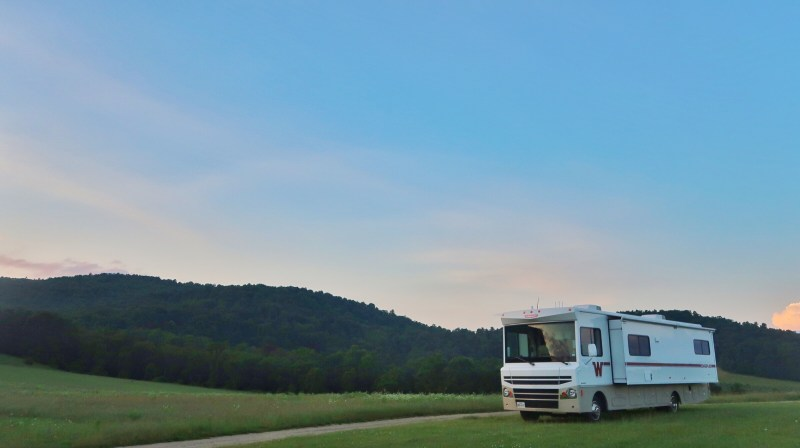 Camping at Hauser Estate Winery (a Harvest Host location in Pennsylvania)