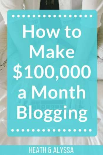 Want to learn how to make $100,000 a MONTH blogging and live your dream lifestyle? Yeah I thought you would.