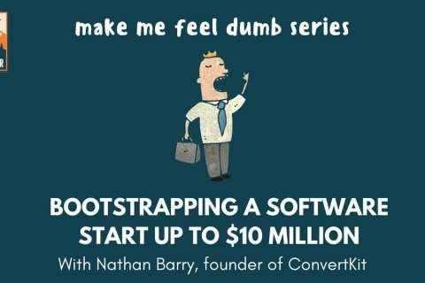 bootstrapping a software startup