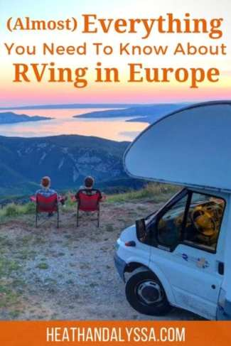 This guest post from Michela Dai Zovi of Team Kaffeeklatsch is equal parts hilarious and informative. If you've ever wondered about RVing in Europe, you'll love it!