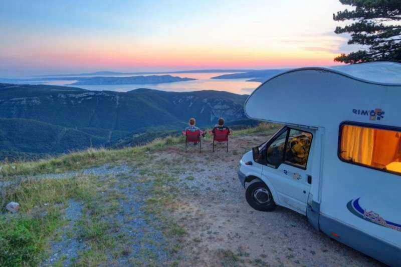Boondocking in Croatia
