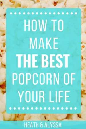 homemade popcorn recipe