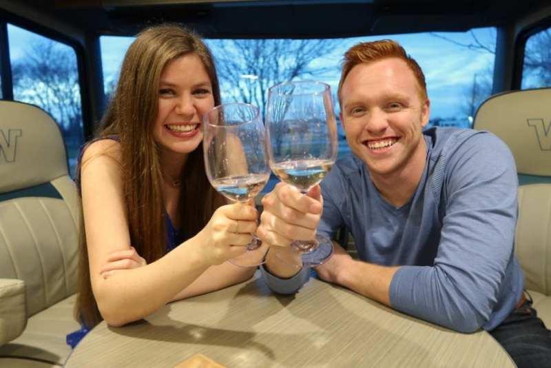 new years wine glass