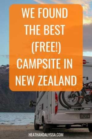best campsite in new zealand