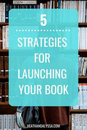 promoting and launching a book