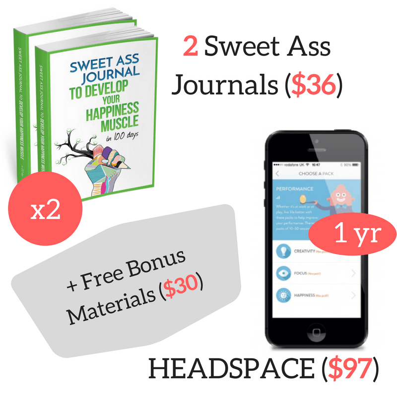 Sweet Ass Journal and Headspace Giveaway