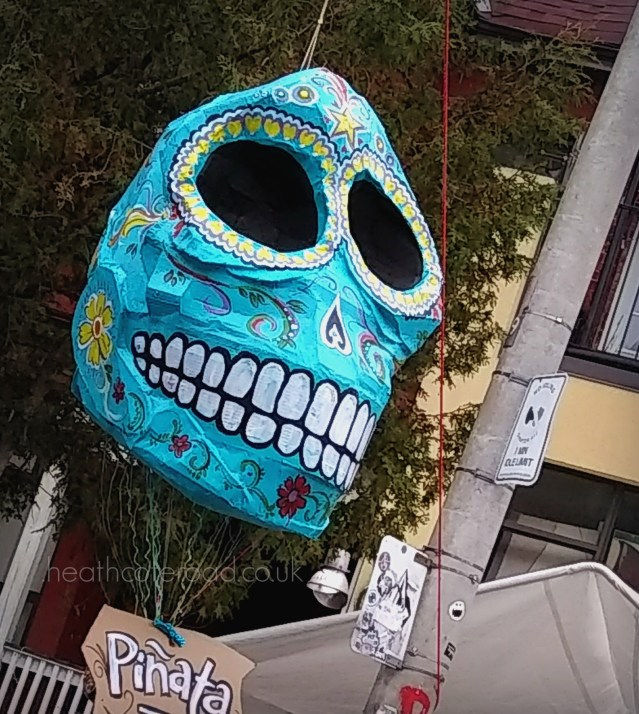day of the dead pinata, toronto
