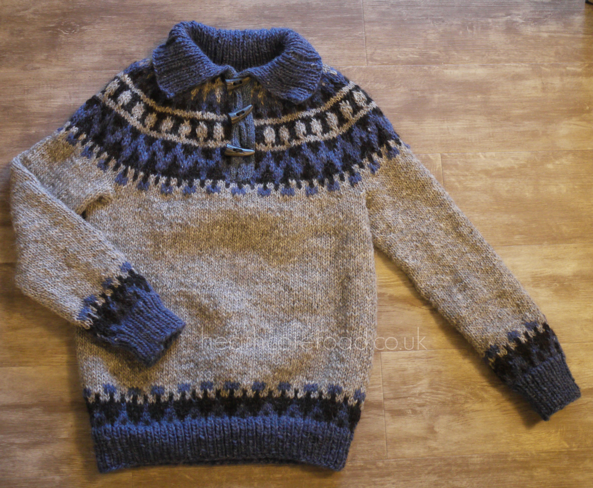 Garri jumper finished, but unblocked.