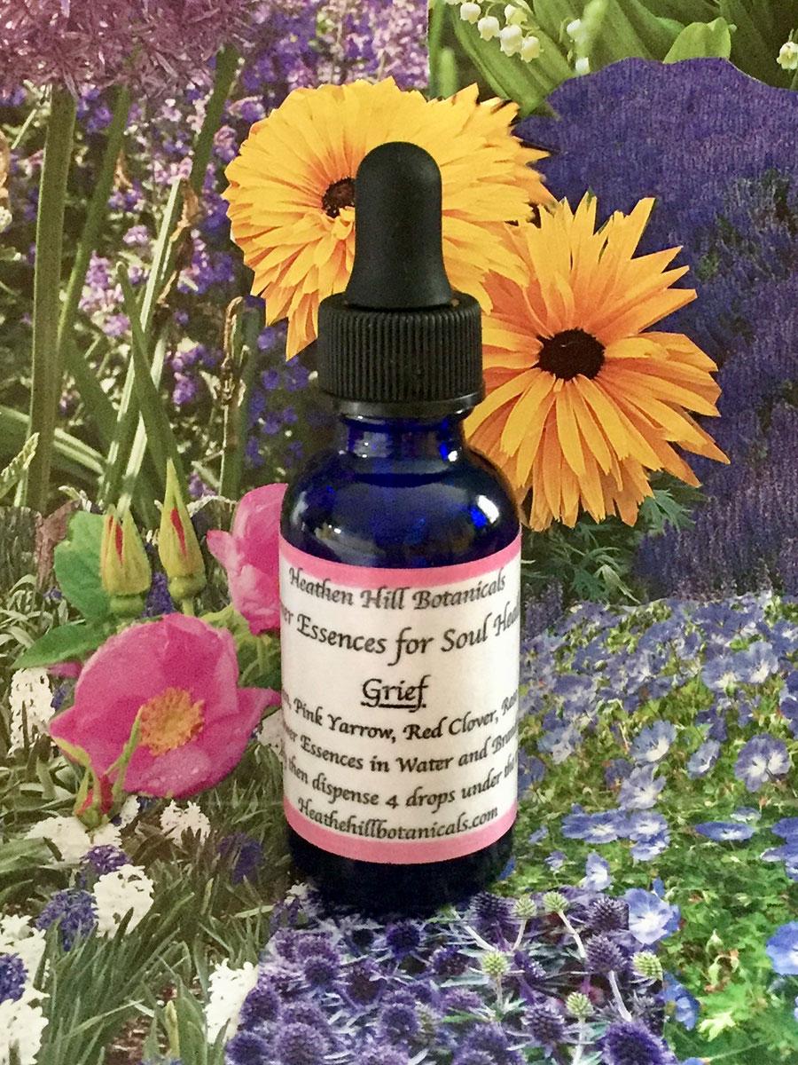 Heathen Hill Botanicals Flower Essence: Grief