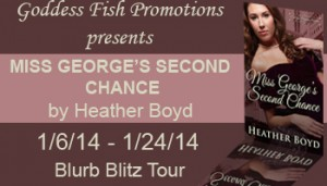 Miss George's Second Chance Goddess Fish Blurb Blitz Tour