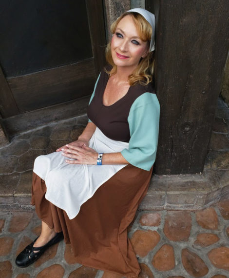 Heather Spears hand-made Cinderella costume molded by Resa Spears