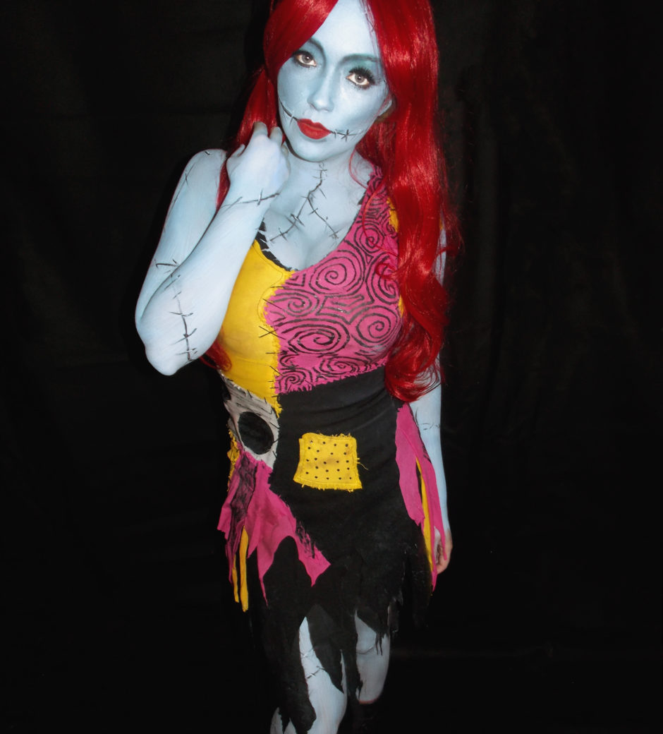Sarah Spears Sally Nightmare Before Christmas Cosplay made by Heather Spears