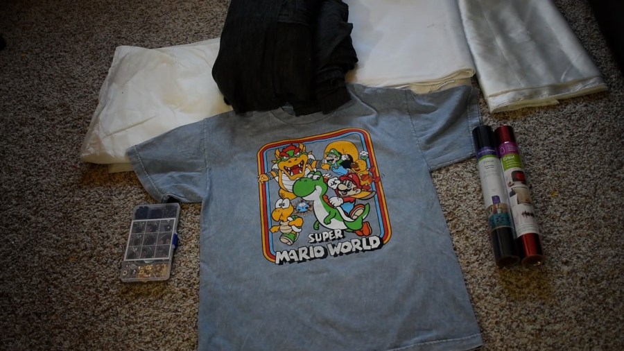 T-shirt to Jacket DIY - Supplies