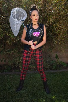 Animal Crossing Flick Cosplay by Heather Spears Full Body