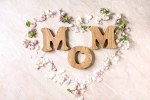 Mom symbol advertising mothers day gift guide