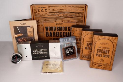 Summer Fun Gift Guide Wood Smoke BBQ Kit
