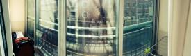My balcony overlooks a Nautilus themed Primary School