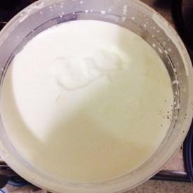 Home-made yoghurt!