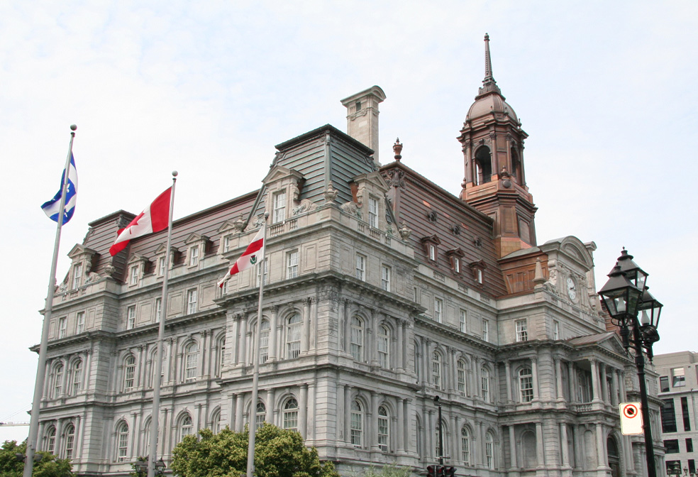 Image result for Montreal City Hall in Montreal