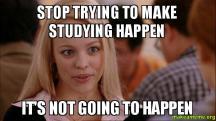 studying 7