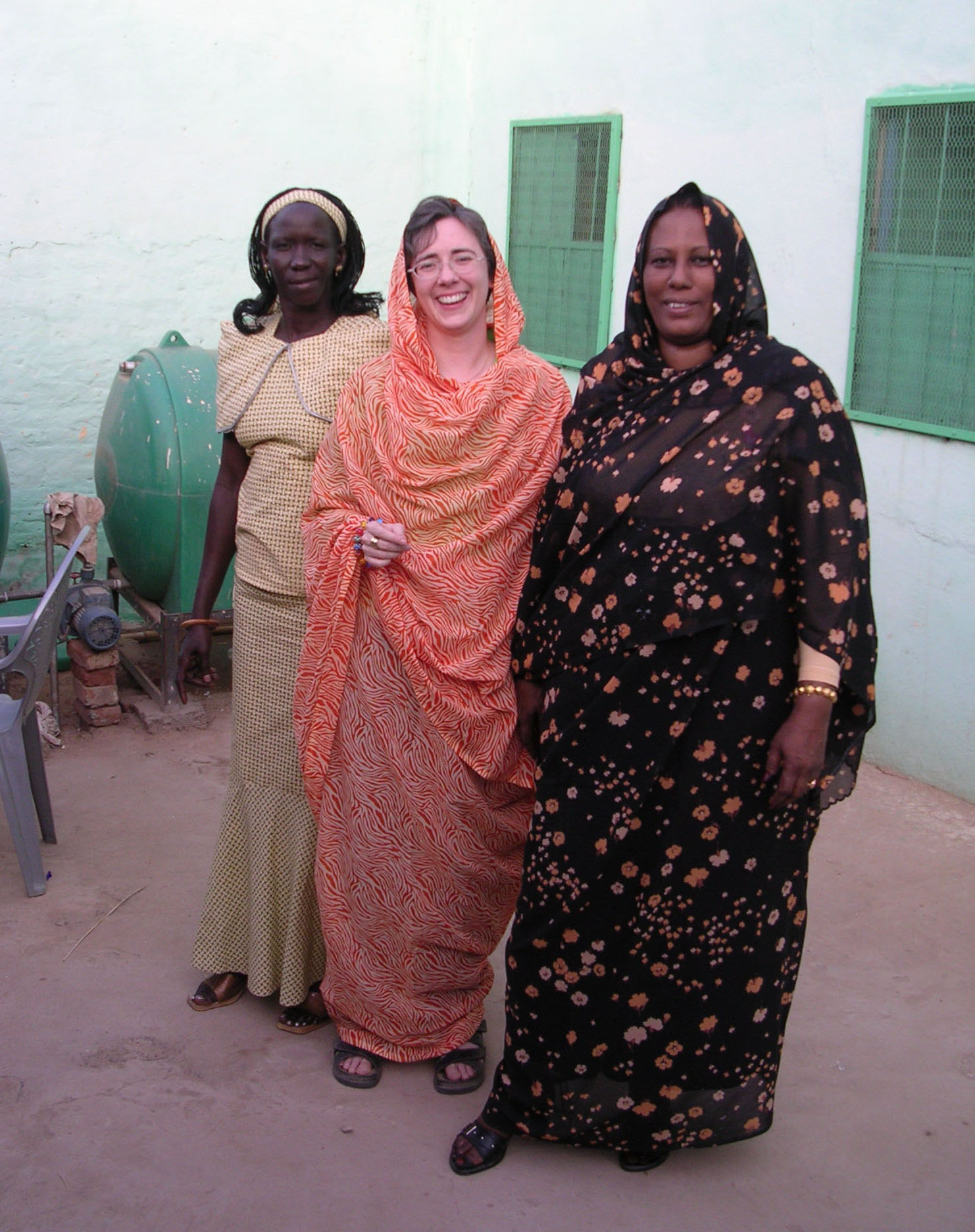 Working with women in Sudan