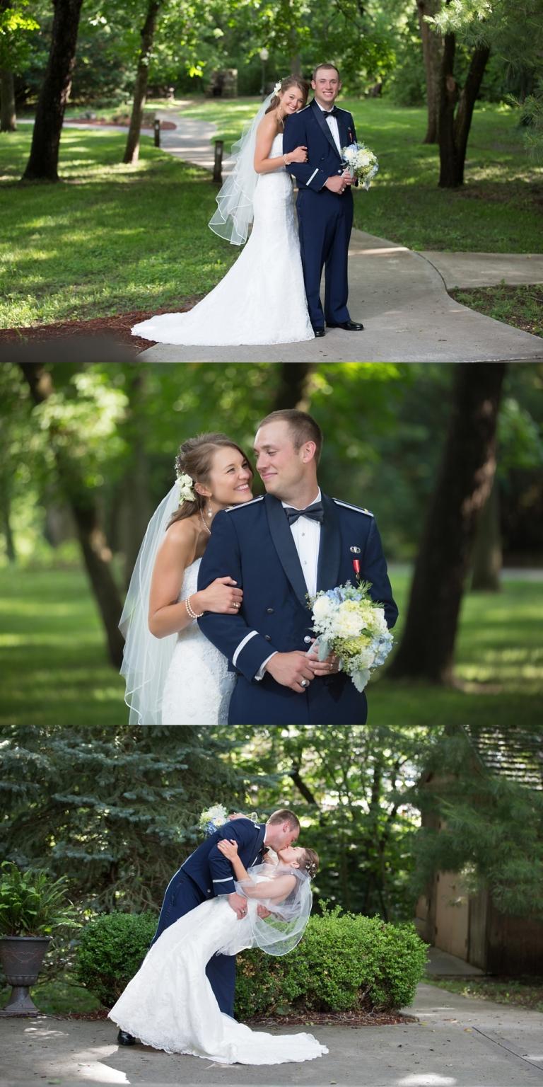 Hannah Aarons Chic Wedding At The Elms Kansas City