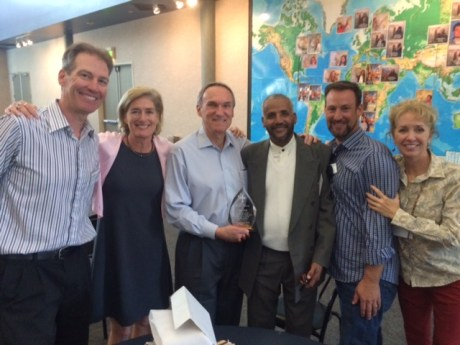 icktank with some great CUI friends: Dr. Mike Middendorf, Craig Olsen, Fr. Mussie Behre, Dominic Rivkin