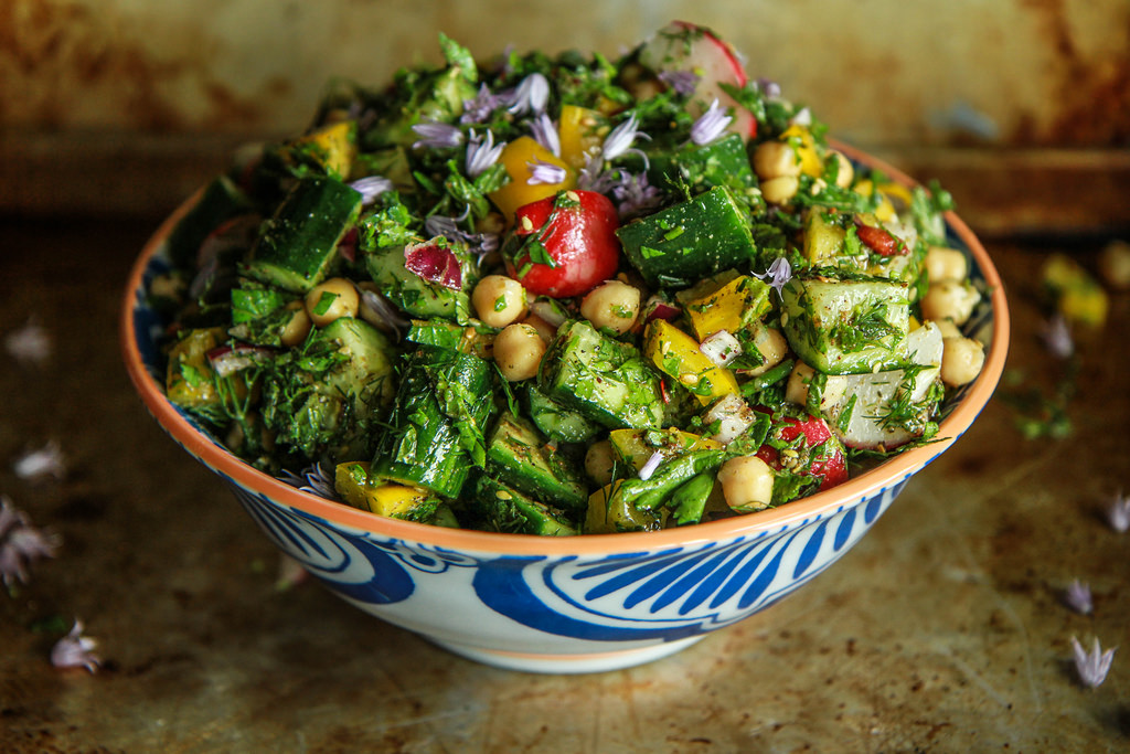 Heather Christo persian chopped salad